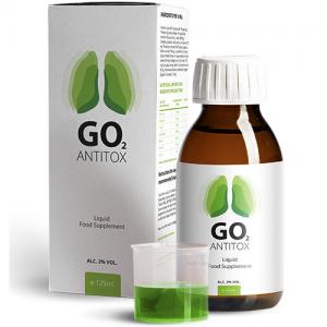 GO2 Antitox jarabe opiniones, foro, funciona, precio, donde comprar en farmacias, españa