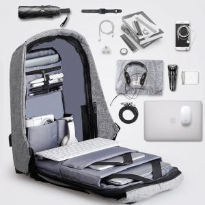 Nomad Backpack funciona antirrobo, laptop, usb